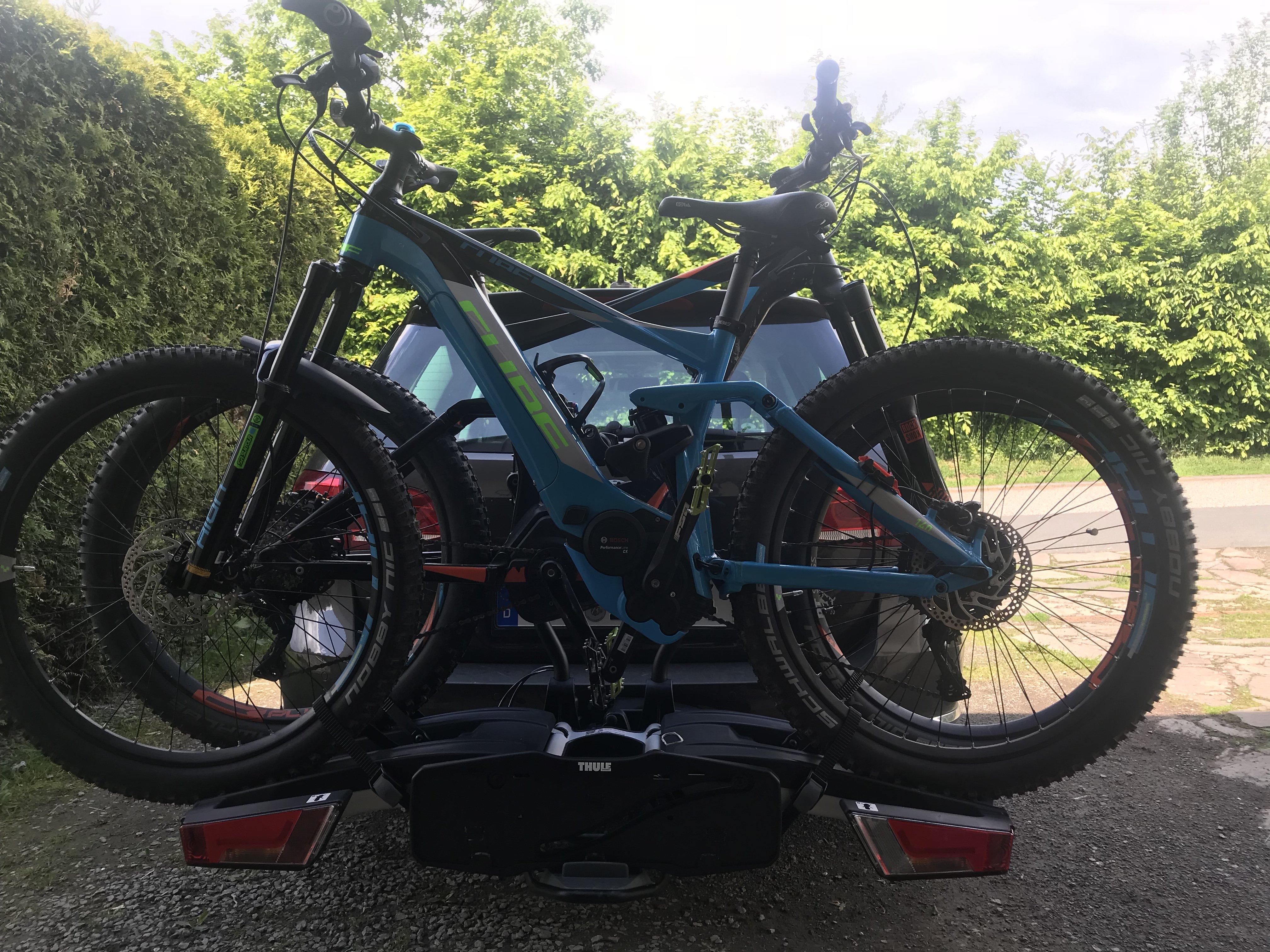 thule 933 easyfold xt 2 fahrradträger faltbar