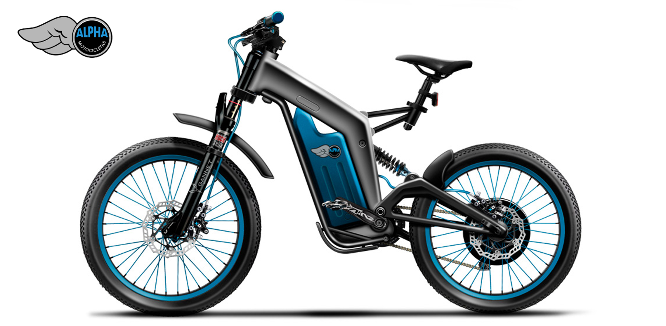 alpha wildcat 100 km h mit einem ebike emtb. Black Bedroom Furniture Sets. Home Design Ideas