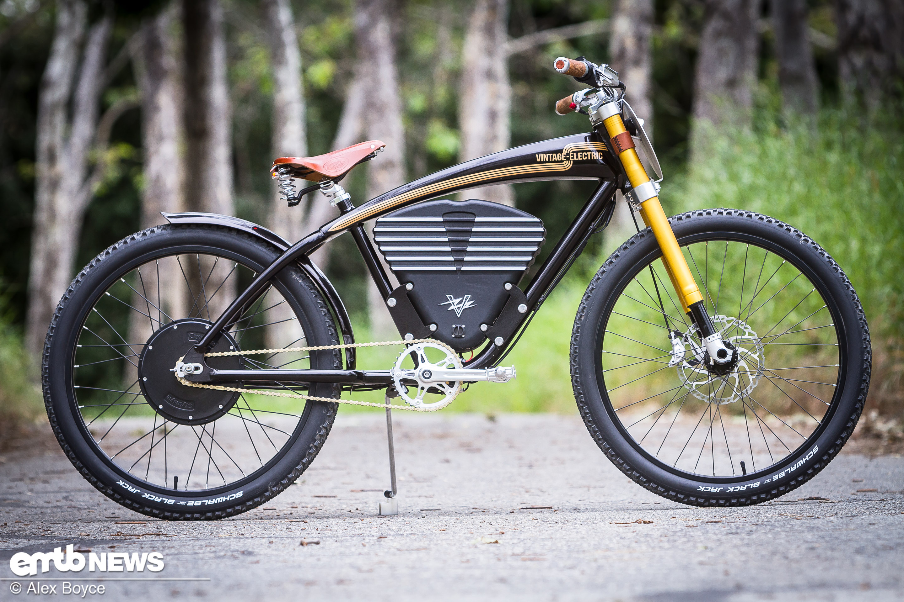 test vintage electric scrambler e bikes auf. Black Bedroom Furniture Sets. Home Design Ideas
