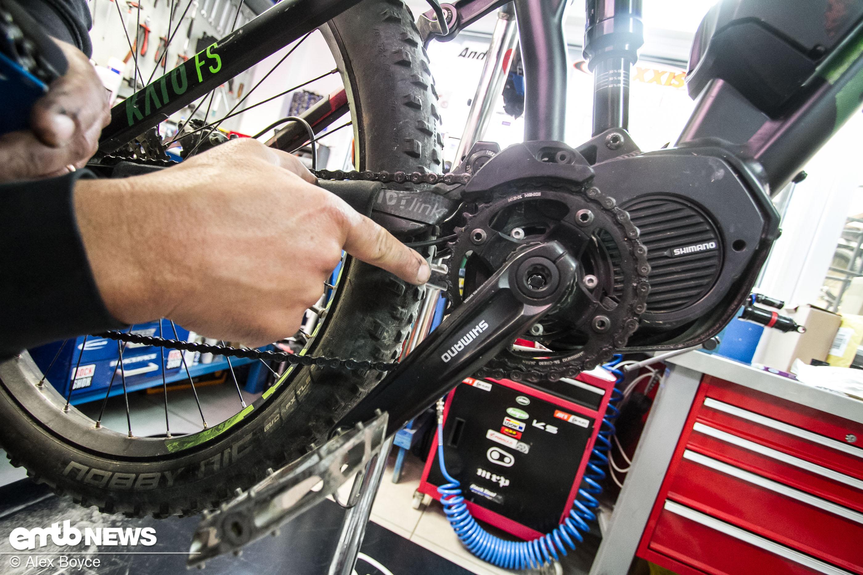 Werkstatt So Wartet Ihr Euren E Bike Antrieb Emtb Newsde