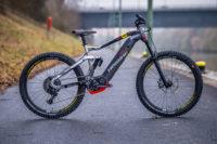 Hübsches E-Freeridebike mit vollintegriertem Bosch-Akku