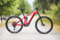 A slick electric all mountain bike from Canada